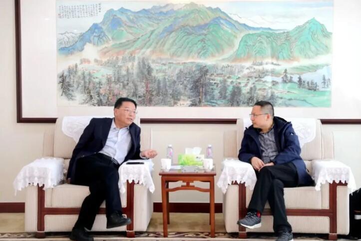 芜湖磁轮传动技术有限公司到集团考察交流